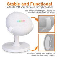 For Google Home Mini Smart Speaker Base Stand Desktop Stand 360 ° - White