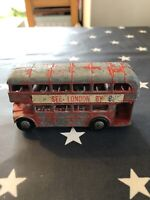 **PLAYED WITH CONDITION** Lone Star Vintage Routemaster London Bus