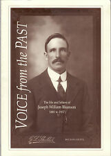 VOICE FROM THE PAST : LIFE & LETTERS  JOSEPH BLUMSON South Australia pioneer bw