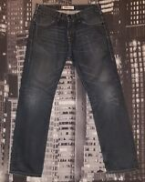 LEVI'S® Damen Jeans W31 L31, hosengröße: 42, Modell 504, Authentisch