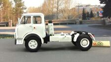Scale model truck 1:43 MAZ-5429, white 1977