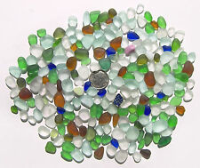 Genuine Nova Scotia Beach Sea Glass - 1/4 Pound Of Drillable JQ Tinies - 200+