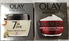 Olay Total Effects Night Firming Facial Moisturizer Treatment - 1.7 fl oz And Ol