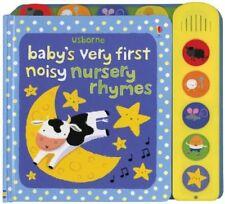 Usborne Baby's Very First Noisy Nursery Rhymes by Stella Baggott (Board Book)