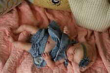 Sweet Amazing Reborn baby doll girl Maggie  Sculpt 20'' anatomically correct