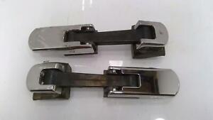 03-09 Hummer H2 LH & RH Hood Strap Latch OEM Set of 2 *Chrome Peeling*
