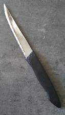 1 couteau à viande, couteau à steak dents des 2 cotés, pour droitier et gaucher