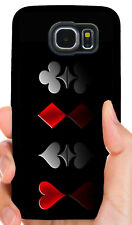 WSOP ACE HOLDEM SPADE POKER PHONE CASE FOR SAMSUNG NOTE GALAXY S4 S5 S6 S7 S8 S9