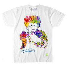 Jimi Hendrix-Riding With The Wind-X-Large White  T-shirt