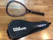 Wilson Sledge Hammer 3.8 Tennis Racquet 110 sq. in. 4 1/2 New Cushion Aire Grip