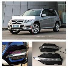 LED Daytime Running Light For Mercedes-Benz W204 GLK300 GLK350 (2013~2016)