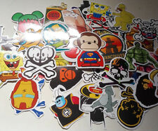 Lot de 50 Stickers mélanger Skateboard Camper Logo Cartoon Rude VW ;;;;etc