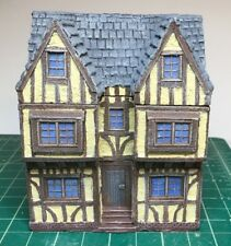 15 mm European Tudor style Manor House Unpainted building miniature