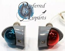 Set of Two Aircraft Navigation Lights part number A1815A. 12 or 24 volt.