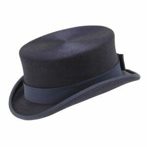 Helen Kaminski Fur Felt Equestrian Top Hat 6 7/8 55cm 6 New