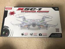 SYMA X5C-1 2.4GHz Quadcopter Drone RTF With Camera Remote Control - New In Box