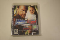 smackdown vs raw 2009 featuring ecw ps3 ps 3 playstation 3 neuf sous blister