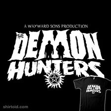 SUPERNATURAL Demon Hunters SPN TV Series Sam Dean Winchester NEW TEEFURY T-SHIRT