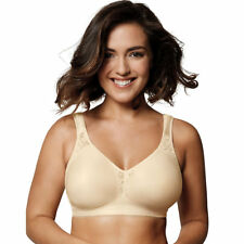 3b69f4e1a9 2 Playtex 18 Hour ComfortFlex Seamless Wirefree Bras 4395 42dd Light Beige