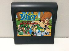 Asterix and the Secret Mission Sega Game Gear Pal Loose