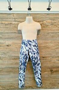Old Navy Active Girl's Grey Tie Dye Elevate Legging Pants NWOT Sz. M Medium 8
