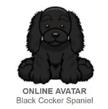 Webkinz Classic Black Cocker Spaniel *Code Only*