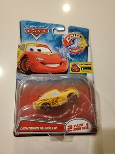 Disney Cars Lightning McQueen color changers New in box 2014 rare sealed