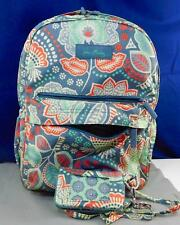 VERA BRADLEY Nomadic Floral Backpack with Zip ID Case New No Tags