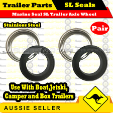 Superior 2 x Marine Seals to suit Ford SL bearings - Trailer Axle Wheel Hub