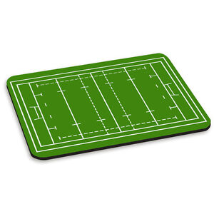 RUGBY PITCH FIELD PC Computer Mouse Mat Pad England Wales Ireland Scotland Funny