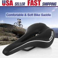 Comfort Sports Mountain Bike Saddle Road MTB Bicycle Seat Cushion Pad w/ Cover