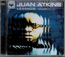 JUAN ATKINS -Legends: Volume 1- 18 track Mixed CD Rue Da Silva Isolee Hatiras