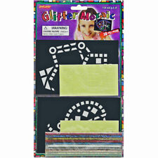 Glitter Mosaic Kit - Children's Simple Mosaic Craft Kit with Glitter like