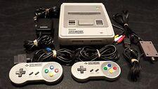 Super Nintendo Console Complete + 2 Controllers - SNES PAL - *** AUZ SELLER ***