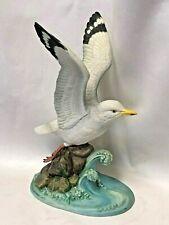 "Andrea "" Herring Gull"" by Sadek Japan Porcelain Figurine #6297 Hand Painted"