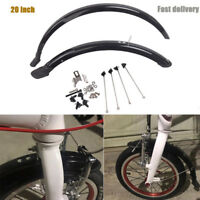 20inch Bicycle Front&Rear Fenders BMX Folding Bike Fender Mudguards P8 Universal