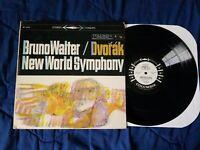 BRUNO WALTER DVORAK NEW WORLD SYMPHONY VINYL LP MS 6066 PROMO