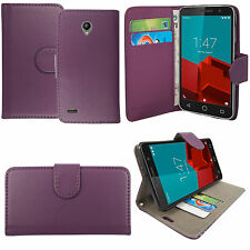 For Vodafone Smart N9 / N9 Lite Premium Leather Wallet Flip Phone Case Cover