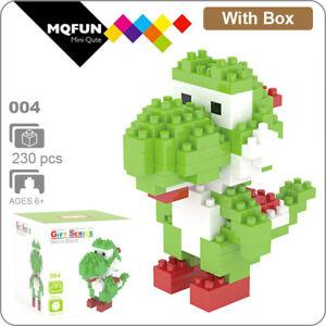 Yoshi Super Mario Brothers Nanoblock 3D Puzzle Toy Mini Micro Block 230 Pieces