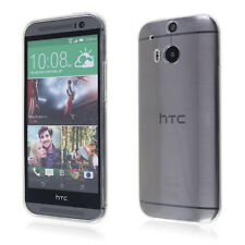 For HTC One2 M8 Ultra Thin Clear Transparent Gel skin case cover