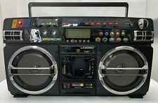 Retro Lasonic i-931 Portable Ghetto Blaster Boom Box Old School