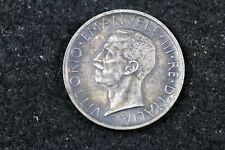 New listing 1927 - Italy 5 Lire Silver Foreign Coin! #H17404