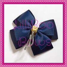 Handmade Large Merida Brave Inspired Hair Bow Clip Cosplay Bounding Princess