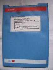 Golf 2 GTI 16V Reparaturhandbuch KR Motor Einspritzung+Schaltpläne Reparaturbuch