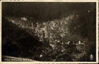 Triberg Schwarzwald Postkarte ~1920/30 Panorama Gesamtansicht ungelaufen