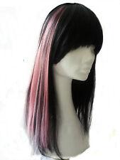 Extensions Haarverlängerung Haarsträhne Clip pink - rose  Haare Strähne  #136a