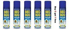 5 x BED BUG KILLER SPRAY KILL BED BUGS TREATMENT MATTRESS BED FRAME CARPET SAFE