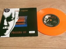 "ROGER TAYLOR - PRESSURE ON 7"" - NUMBERED SLEEVE , ORANGE VINYL"