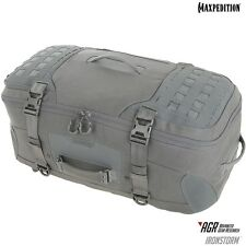 Maxpedition MXRSMGRY IRONSTORM Adventure Travel Bag, Gray
