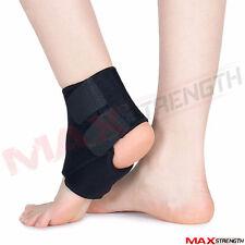 NEOPRENE Caviglia Supporto Compressione Cinghia in esecuzione dei tendini lesioni Brace distorsione a pedale